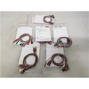 Spacelabs TruLink ECG / EKG Lead Wire Set 5-Leads 012-0285-11 - 6 Packs