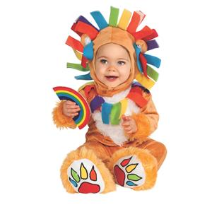 Rubie's Costume Noah's Ark Lucky Lion Romper Costume Size 6-12 months