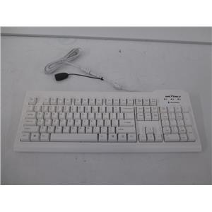Seal Shield SSWKSV207 Silver Seal Medical Grade Keyboard White USB