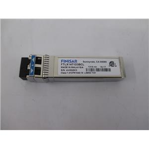 Finisar FTLX1471D3BCL 10.5Gb/s RoHS 6 Compliant 1310nm SFP+ Transceiver
