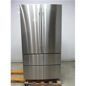 """Bosch 800 Series 36"""" 4-Door SuperCool SS French Door Refrigerator B21CL81SNS"""