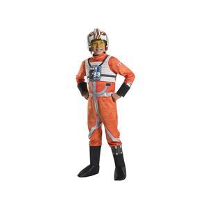 Kids Classic Star Wars Deluxe X Wing Fighter Pilot Costume, Medium