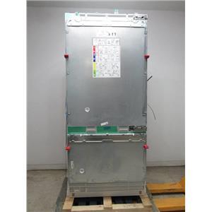 """Gaggenau 36"""" LED Sidewall Pillars Fully Integrated PR Refrigerator RB492701"""