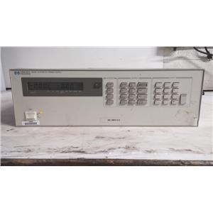 HEWLETT PACKARD 6622A SYSTEM DC POWER SUPPLY