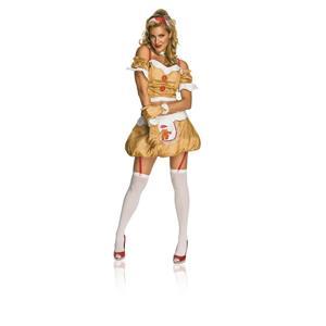 Rubie's Costume Secret Wishes Gingerbread Girl Dress Size Medium