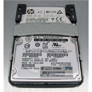 HP 300GB 10K SAS dual-port HDD Quick Release Tray 575055-001 641552-001