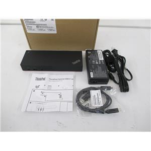 Lenovo 40AF0135US ThinkPad Hybrid USB-C with USB-A Dock US