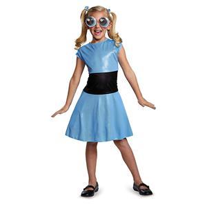 Bubbles Classic Powerpuff Girls Cartoon Network Costume X-Large 14-16