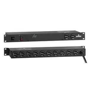 Leviton 5500-192 Basic PDU Surge Protecter 120V 20A Rackmount (12) 5-20R L5-20P
