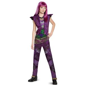 Disney Mal Classic Descendants 2 Costume, Purple, Large (10-12)