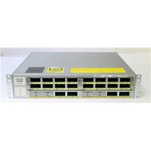 Cisco WS-C4900M 10GE Port Network Switch with 2x WS-X4908-10GE Modules