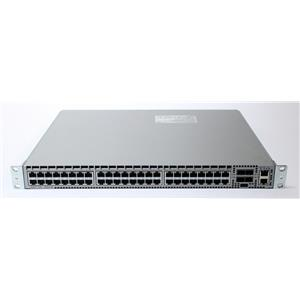 Arista DCS-7050T-52-R Switch 48x 1/10GBase-T RJ-45 4x 10G SFP Rear To Front