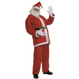 Simply Santa Adult Economy Santa Claus Suit Costume Size XL