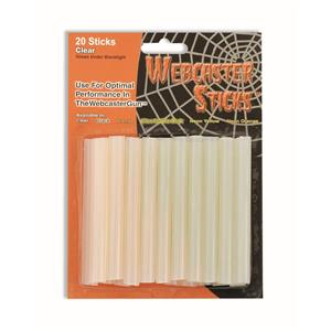 Clear Webcaster Gun Refill Sticks