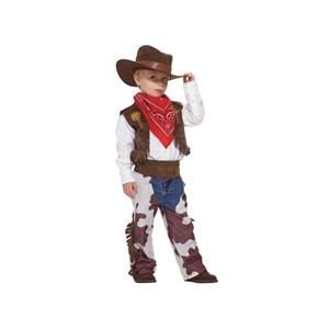 Western Cowboy Costume Dress Up Playset Size Small 4-6
