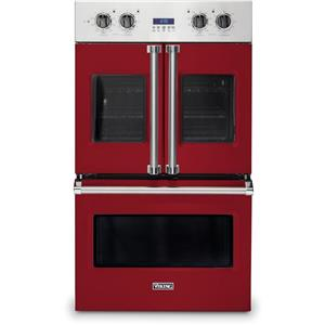 Viking Professional 7 Series VDOF7301AR 30 Inch French Door Double Wall Oven