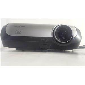 SHARP PG-F320W DLP PROJECTOR (139 LAMP HOURS USED)