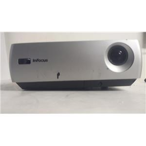 INFOCUS IN24 DLP PROJECTOR (812 LAMP HOURS USED)