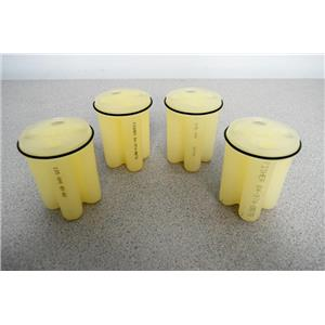 4x Fisher 04-974-007B 5x15mL Sealed-Type Adapters for 250mL Buckets Warranty