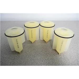 4x Fisher 04-974-007A 2x50mL Sealed-Type Adapters for 250mL Buckets Warranty