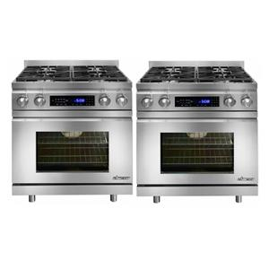 "NIB Dacor Distinctive 60"" Stainless Convection Pro-Style Duel Fuel Range DR30DNG"