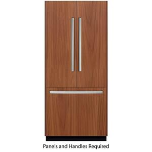 """Bosch Benchmark 36"""" Integrated French Door Refrigerator B36IT800NP EXCLNT"""