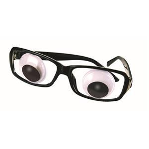 Wiggle Eye Glasses With Boggle Eyes Costume Glasses