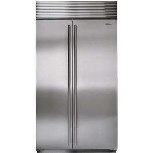 NIB Sub-Zero 42 Inch 16 cu. ft. SS Built-in Side-by-Side Refrigerator BI42SSTH
