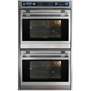 "Wolf L Series 30"" 4.5 Dual Convection Ovens Double Electric Wall Oven DO30FS"