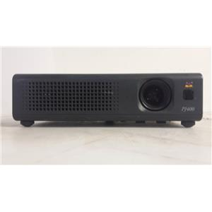VIEWSONIC PJ400 LCD PROJECTOR  (LAMP HOURS ARE 179)