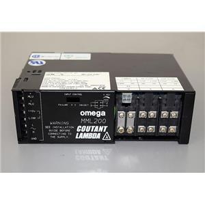 Omega Coutant  Lambda MML200 NS-LGE-402 200W Power Supply Warranty