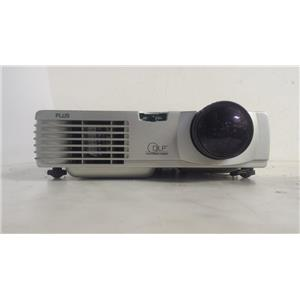 PLUS U2-1130 DLP PROJECTOR(96 LAMP HOURS USED)