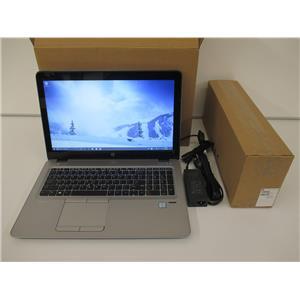 "HP 4HJ55UP#ABA EliteBook 850 G3 i7-6600U 2.6GHz 32GB 512GB W10P 15.6"" FHD Touch"