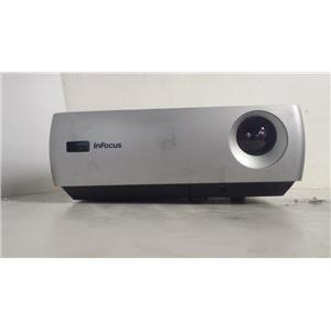 INFOCUS IN26 DLP PROJECTOR(1887 LAMP HOURS USED)