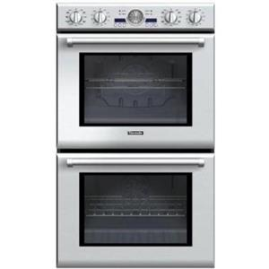 """Thermador Professional 30"""" Double Electric Convection Wall Oven PODC302J EXCLNT"""