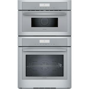 "Thermador Masterpiece Series 30"" Self-Clean Combination Speed Oven MEDMC301WS"