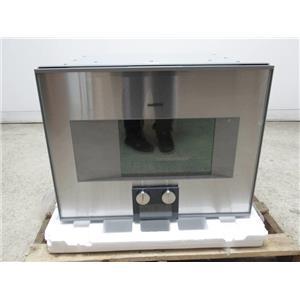 "Gaggenau 400 Series 24"" Recipe Saver Combi-Steam Convection Oven BS474611"