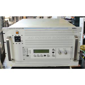 California Instruments 6000Lx Programmable AC Power Source 6kVA