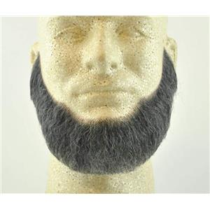 Dark Gray Human Hair Full Character Professional Costume Beard 2024