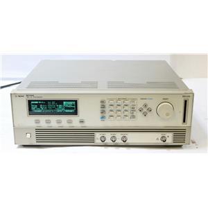 HP Agilent 8114A 100 V / 2 A / 15 MHz High Power Pulse Generator OPT 001