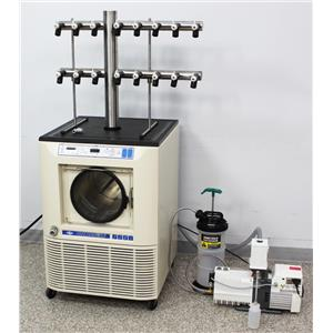 VirTis Freezemobile 12EL Freeze Dryer Sentry 2.0 Lyophilizer w/ 16-Port Manifold