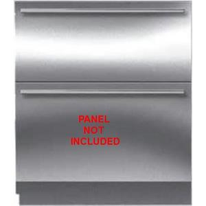 Sub-Zero 30 Inch 5.2 cu. ft Integrated Double Drawer Refrigerator ID30R