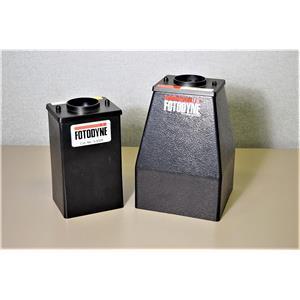 Fotodyne Electrophoresis Gel Camera Polaroid Hood Lot of 2 with Warranty