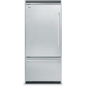"Viking Designer Series 36"" 20.3 Quiet Cool Built-in Refrigerator DDBB536LSS"