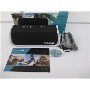 FUGOO FXLSPWK01 Sport XL Portable Bluetooth Speaker - WATERPROOF - Black/White