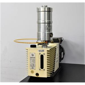 Tested Varian DS602 High Vacuum 5 Microns Dual Stage Rotary Vane Pump Warranty