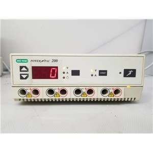 Bio-Rad PowerPac 200 Electrophoresis Power Supply
