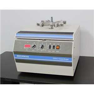 Beckman Coulter Allegra 6 Benchtop Centrifuge w/ GH 3.8 Rotor