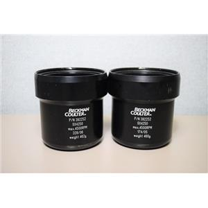 Beckman Coulter 392252 Swing Buckets SX4250 Max 4500 RPM Set of 2 Warranty
