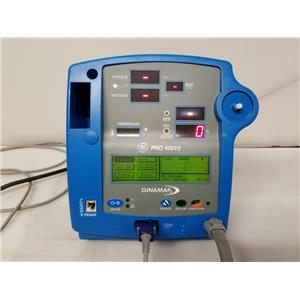 GE Dinamap Pro 400V2 Patient Monitor (Missing Knob)